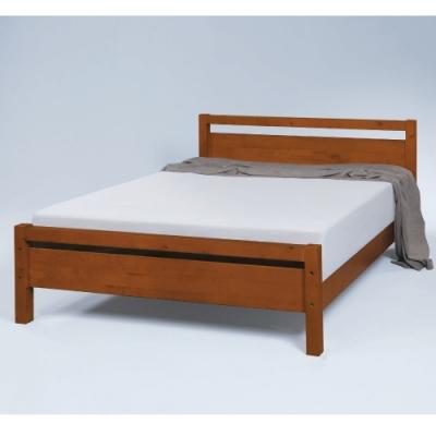 MUNA 1815型維拉5尺實木雙人床 152X200X80cm