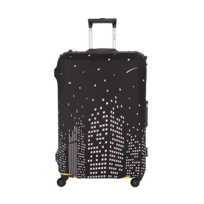 【OUTDOOR】行李箱保護套-城市-S ODS19B01SCT
