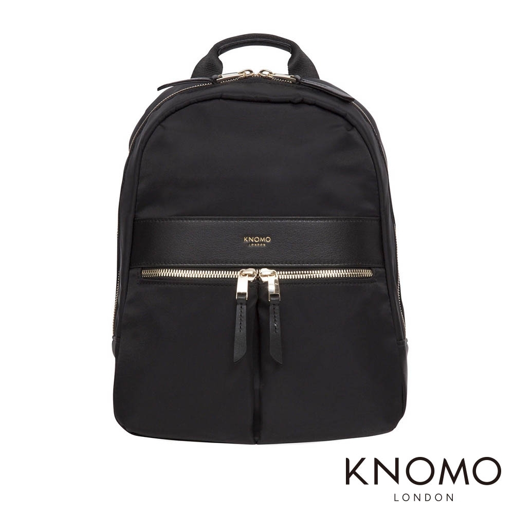KNOMO 英國 Mini Beauchamp 電腦後背包 - 黑色