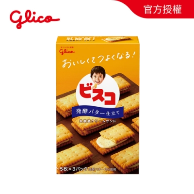 Bisco百思可 香草奶油乳酸菌夾心餅乾 57.6g
