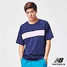 New Balance 短袖T恤_AMT91510PGM_男性_深藍