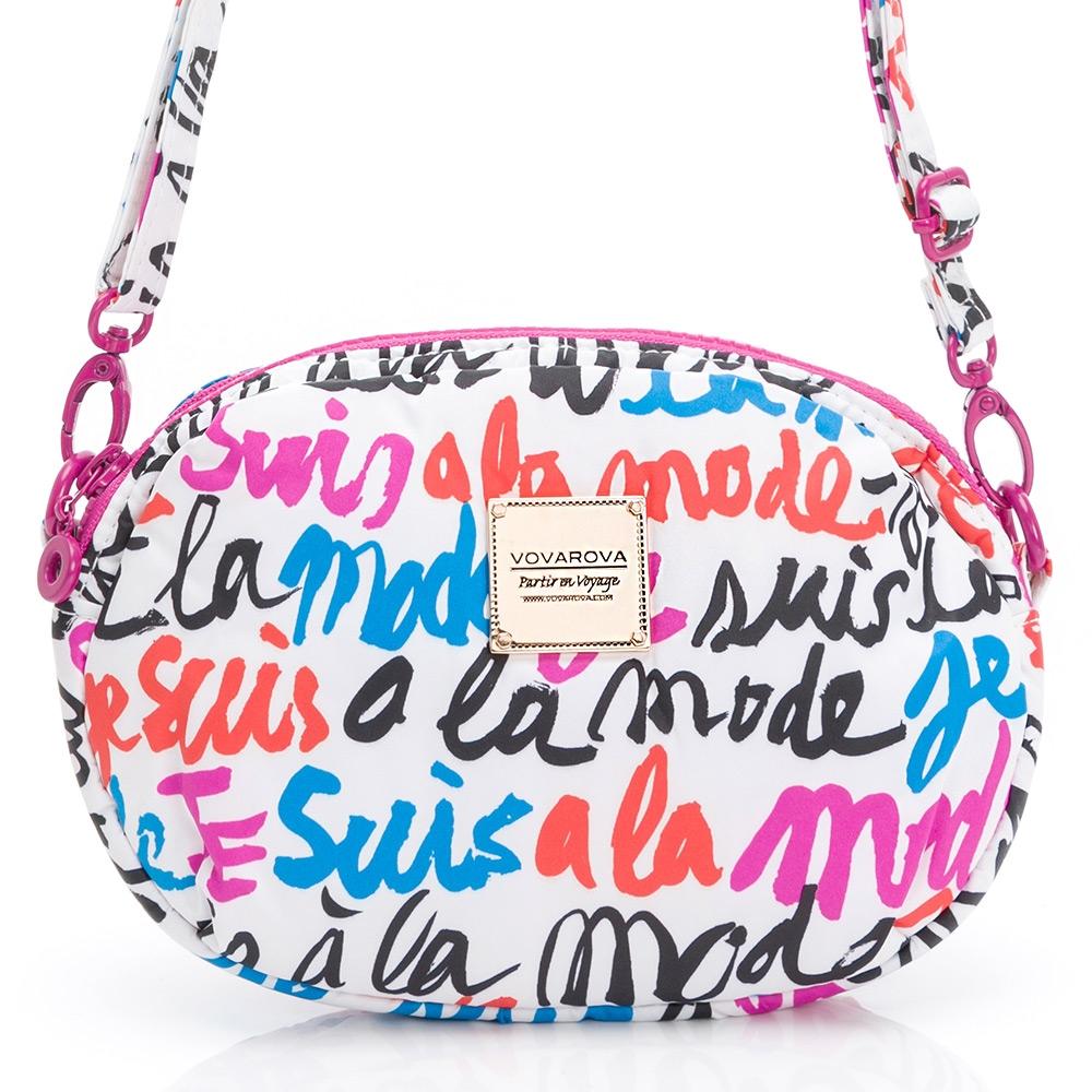 VOVAROVA空氣包-泡芙側背包-法式小情歌(白)