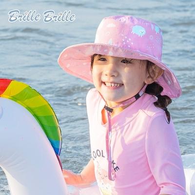 【Brille Brille】兒童UPF50+雙面防曬帽 - 夢幻農莊