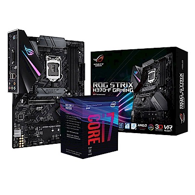 華碩 STRIX H370-F GAMING + intel? i7-8700 套餐組