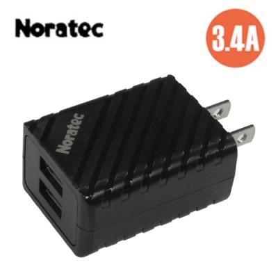 Noratec 色彩繽紛3.4A 雙USB輸出變壓器 TC-A340