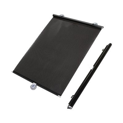 車用伸縮防曬遮陽簾 擋風玻璃 防曬 隔熱 遮陽簾 黑色款