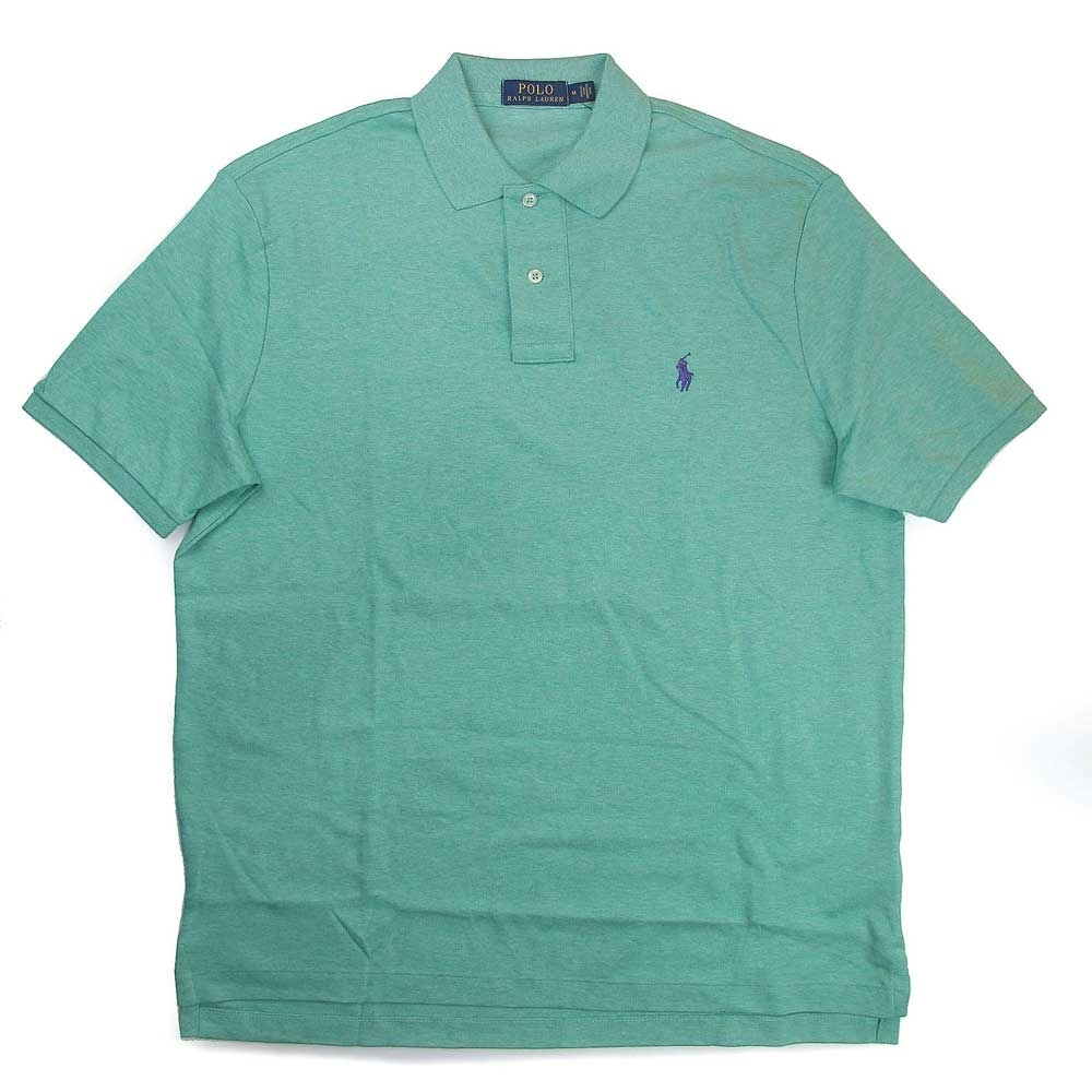Polo Ralph Lauren 經典小馬Logo淺綠色短袖Polo衫