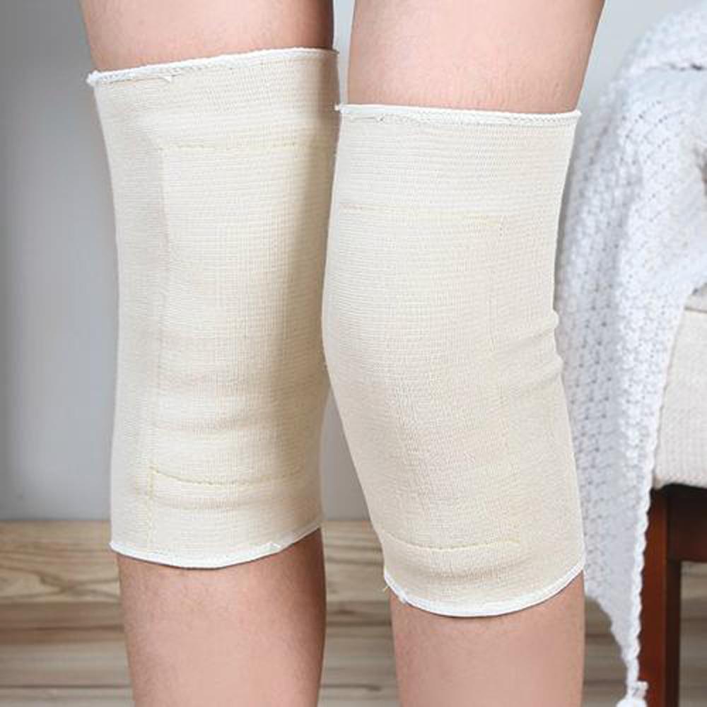iSFun 膝蓋保暖 秋冬防寒加絨彈性護膝套