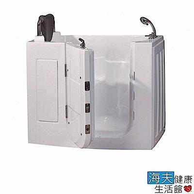 海夫健康生活館 開門式浴缸 109-T 恆溫水柱按摩款 (120*68*92cm)