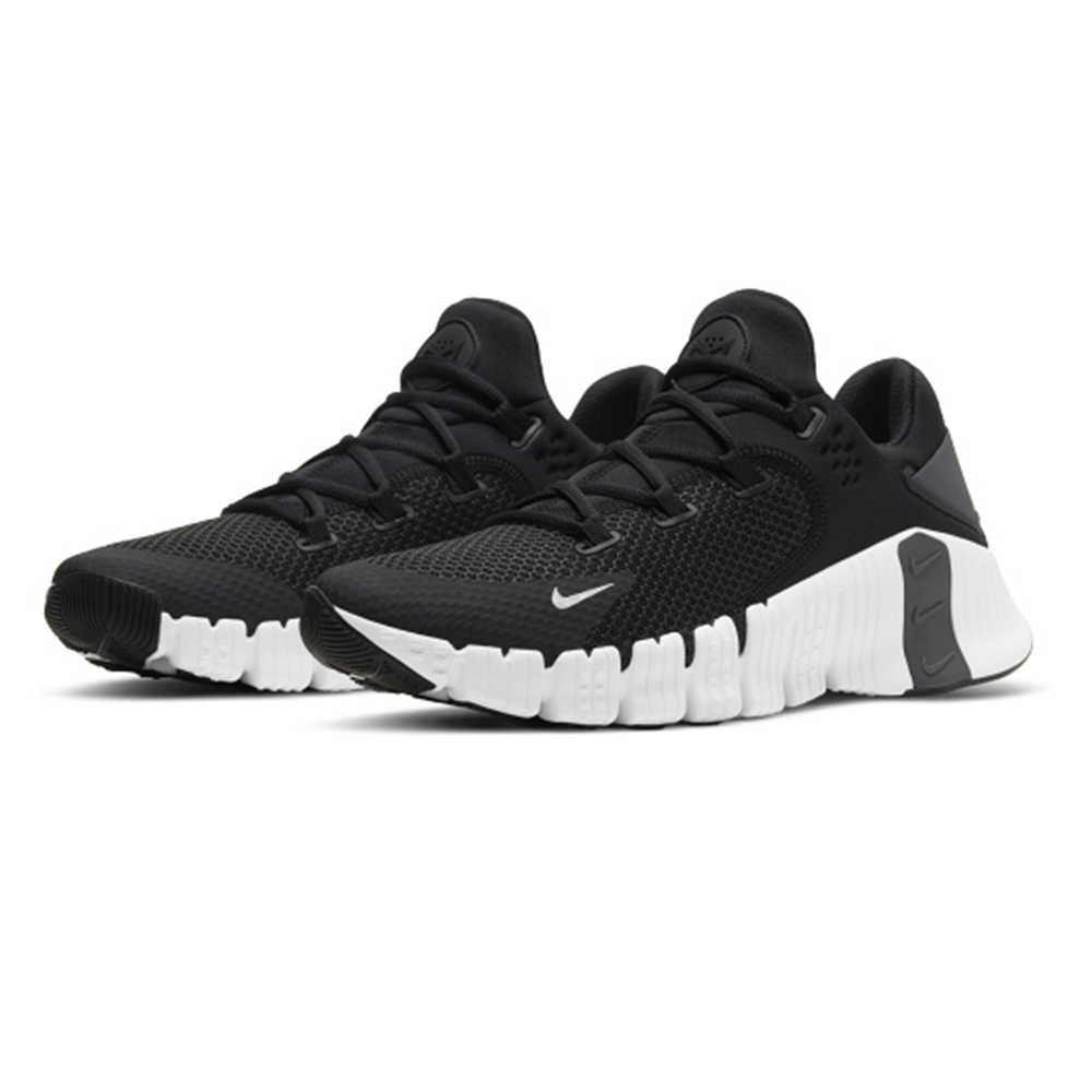 NIKE 運動鞋 訓練鞋  健身 重訓 支撐 男鞋 黑 CT3886010 NIKE FREE METCON 4