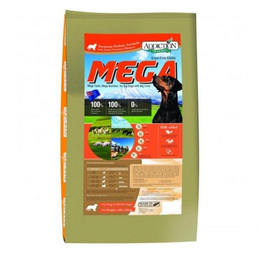 紐西蘭-ADDICTION自然癮食 大型犬專用無穀犬寵食 44lbs(20kg)
