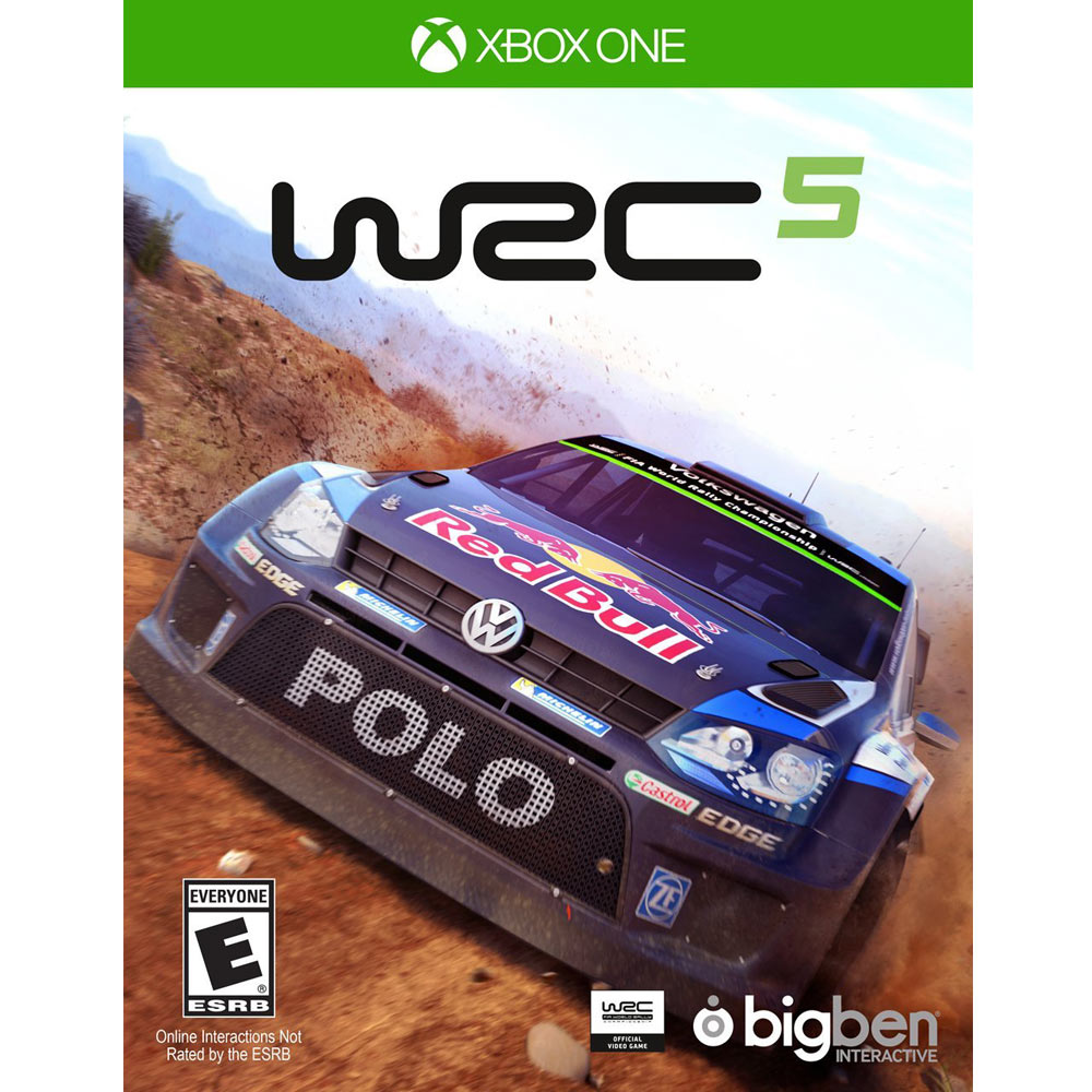 世界越野冠軍賽 5 WRC 5-XBOX ONE英文美版