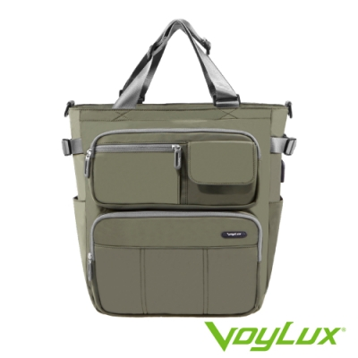 VoyLux 伯勒仕-VANTAGE系列 四用托特包-綠色3581113