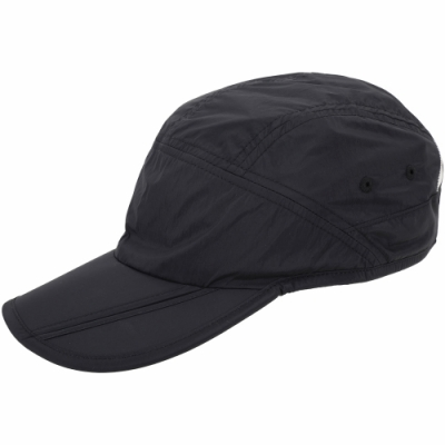 Y-<b>3</b> X Adidas Logo 刺繡字母黑色尼龍棒球帽