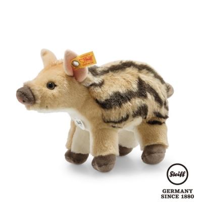 STEIFF德國金耳釦泰迪熊  小野豬  Wutzi Young Boar (動物王國) 20cm