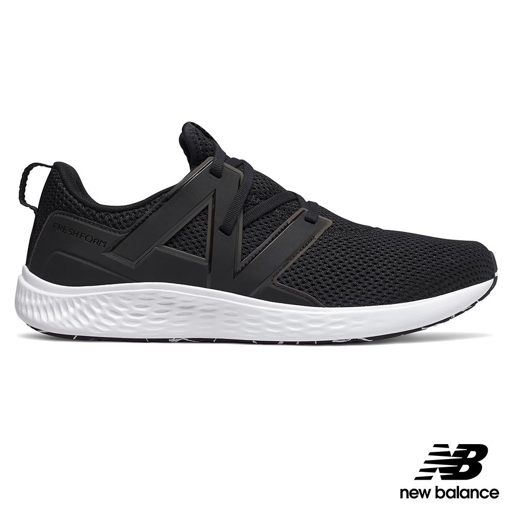 New Balance緩震跑鞋MVSPTBL1-4E_男黑色