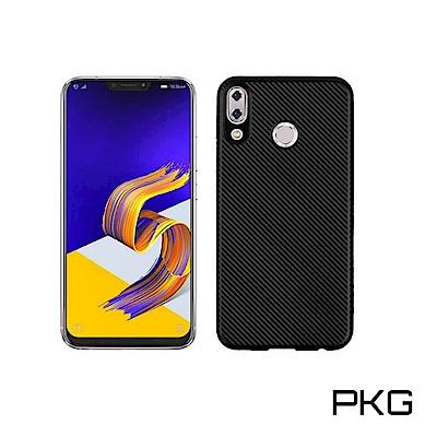 PKG  ASUS Zenfone5 2018抗震防摔手機殼-美紋抗指紋系列
