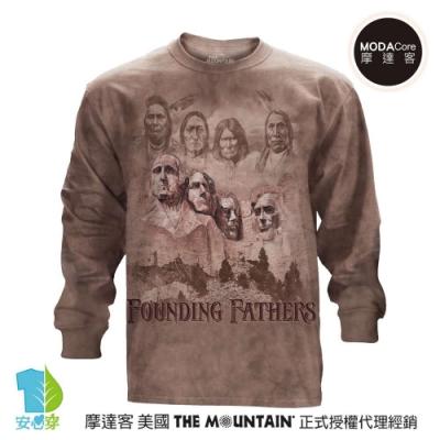 摩達客 美國進口The Mountain 拓荒者 純棉長袖T恤