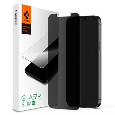 SGP / Spigen iPhone 13 mini/13/13 Pro/13 Pro Max tR EZ Fit-防窺玻璃保護貼(含快貼板:2入)