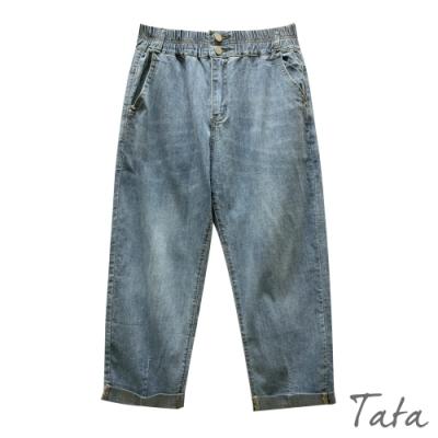 刷色老爺牛仔褲 TATA-F