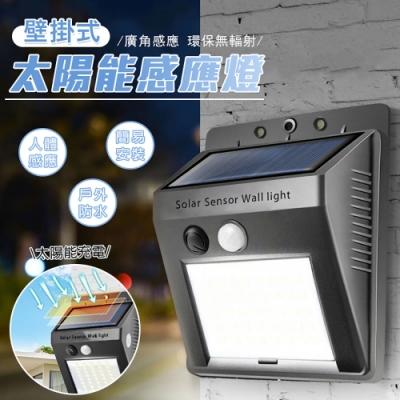 壁掛式太陽能感應燈