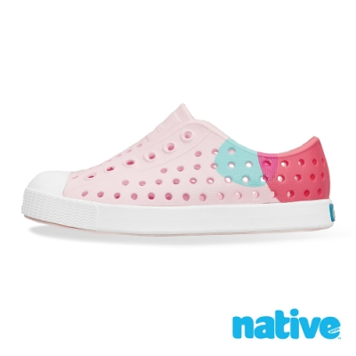 native 小童鞋 JEFFERSON 小奶油頭鞋-公主普普風