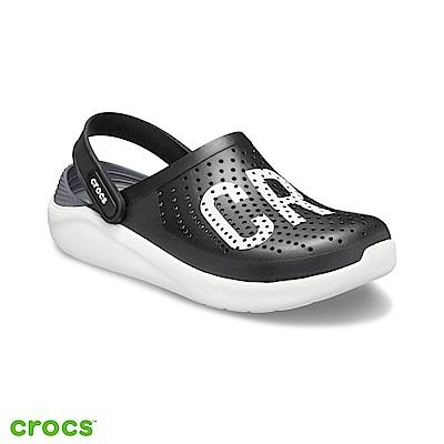 Crocs 卡駱馳 (中性鞋) 瘋狂LOGO克駱格 205893-066