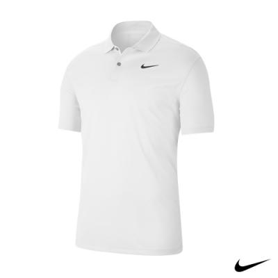 Nike 男 素色短袖Polo衫 白 BV0355-100