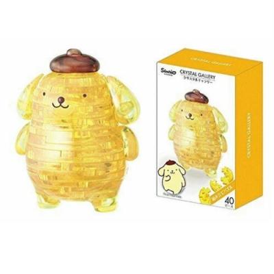 日本 Hanayama 迪士尼 3D水晶拼圖- 三麗鷗 布丁狗