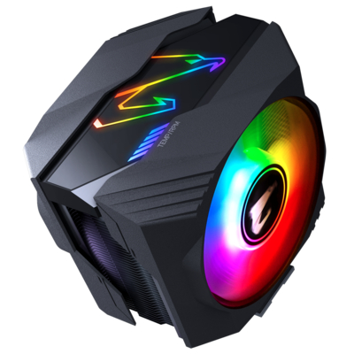 GIGABYTE 技嘉 AORUS ATC800 CPU 散熱器 雙滾珠軸承 RGB PWM 風扇