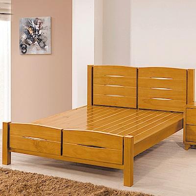 AS-艾利實木雙人加大6尺雙人床-183x202x96cm