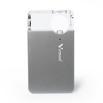 迷你個人雲端 5G WI-FI 無線隨身碟 64GB-銀色