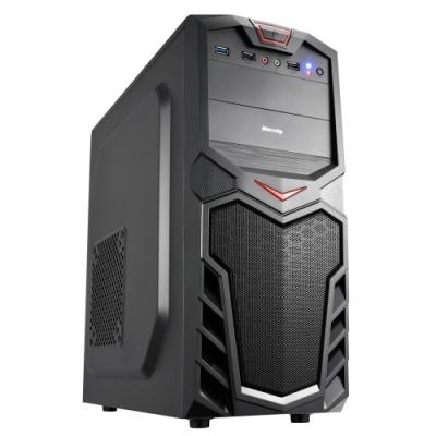 華碩H310平台[雷鳥武士]i7八核GT1030獨顯電玩機