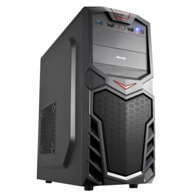 華碩H310平台[天狼兵長]i3四核GT1030獨顯電玩機