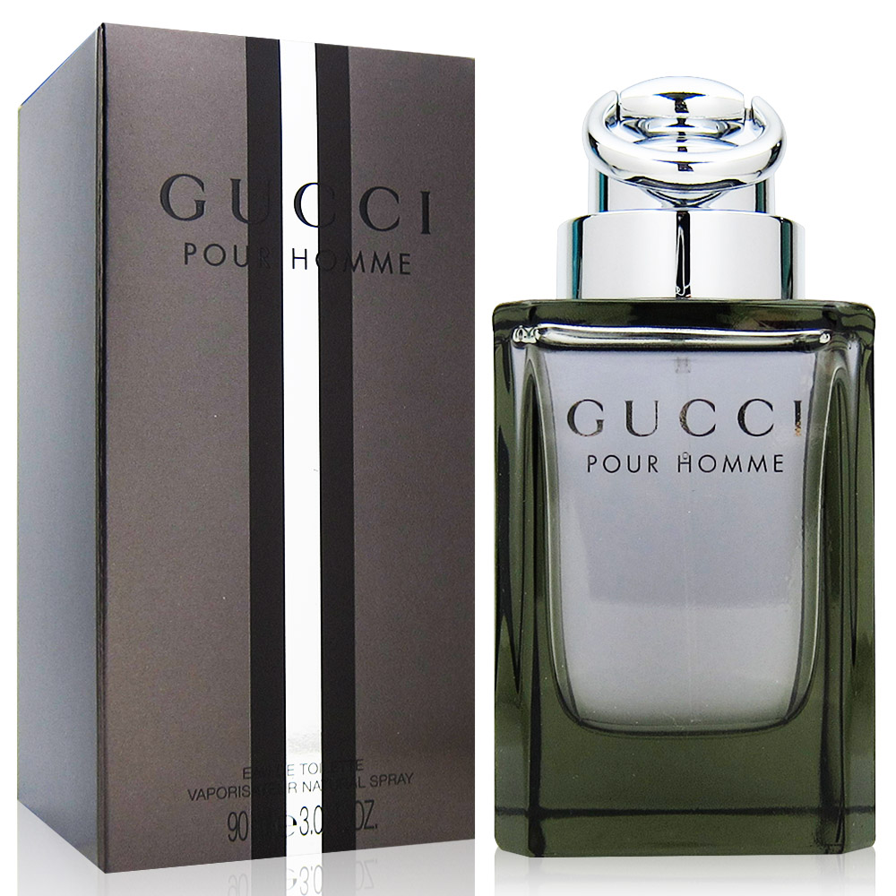 GUCCI POUR HOMME男性淡香水90ml(法國進口)