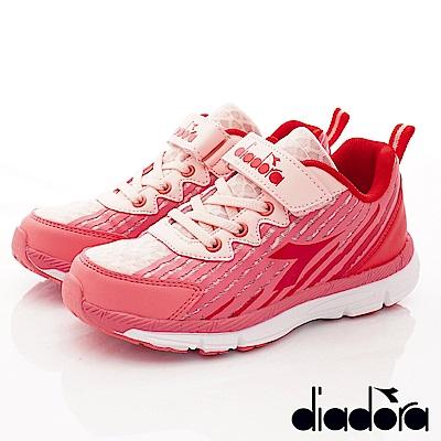 DIADORA Q彈運動跑鞋款-RSE112紅(中大童段)