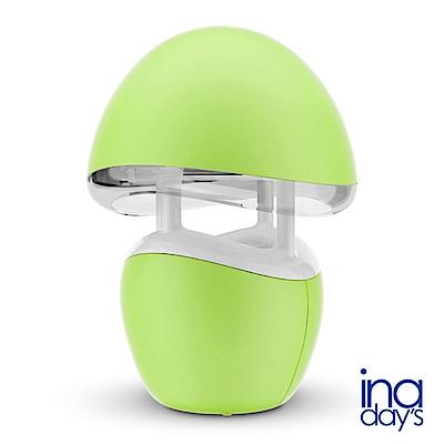 inadays捕蚊達人卡馬龍系列光觸媒捕蚊燈GR-361 粉綠色