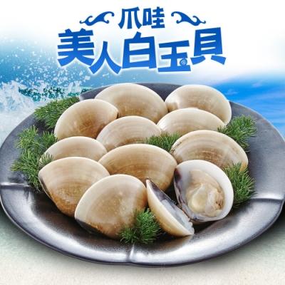 愛上美味印尼熟凍白玉貝8包(500g±10%/包)