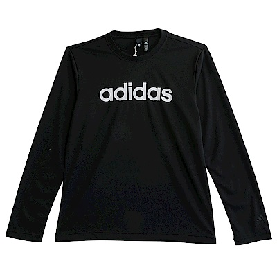 Adidas M LOGO LS T-長袖上衣-男