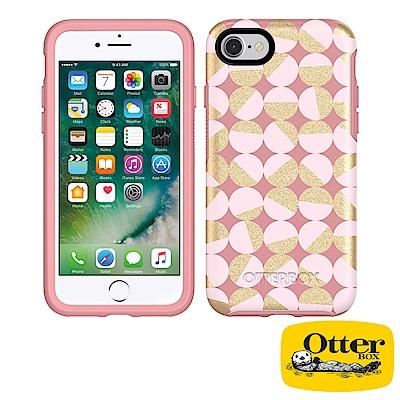 OtterBox iPhone7 / iPhone8炫彩幾何圖騰系列保護殼-瑰色...