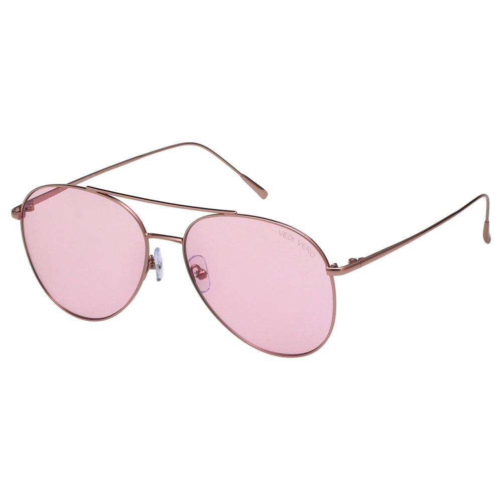 VEDI VERO 飛官款 變色 太陽眼鏡 (玫瑰金色)VE880
