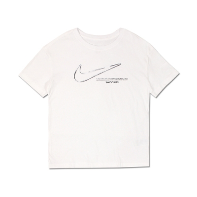Nike 女 AS W NSW TEE BOY SWOOSH 圓領T(短)