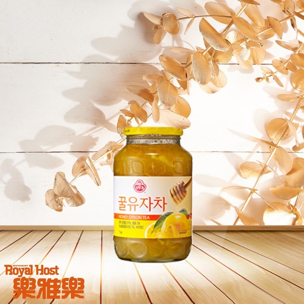 RoyalHost樂雅樂 韓國不倒翁Ottogi 蜂蜜柚子茶(1KG)