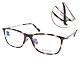 ZEISS蔡司眼鏡 簡約方框款/琥珀棕-銀 #ZS70010 F390 product thumbnail 1