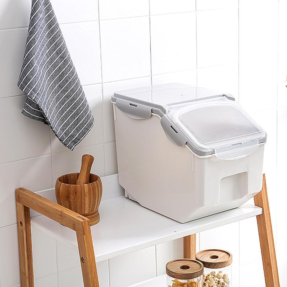 【Mr.Box】多功能密封收納保鮮儲糧米桶盒-小款
