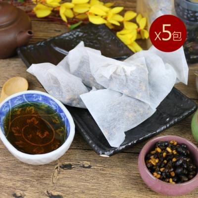 台南莊記 黃金三角黑豆茶5包(300g/包)