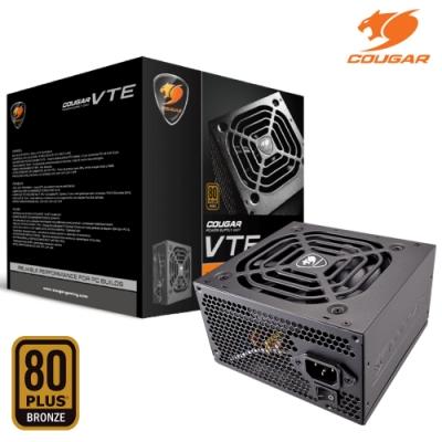COUGAR 美洲獅 銅牌 VTE 600W 電源供應器 80 PLUS / 保固3年