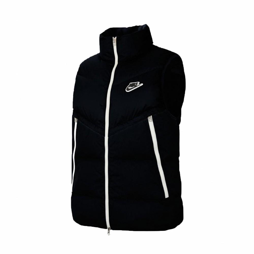 Nike 背心 Down-Fill Windrunner 男款 NSW 75灰鴨絨 保暖 輕便 黑 白 CU4415010