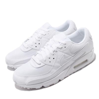 Nike 休閒鞋 Air Max 90 運動 男鞋 經典款 氣墊 舒適 穿搭 簡約 全白 CN8490100