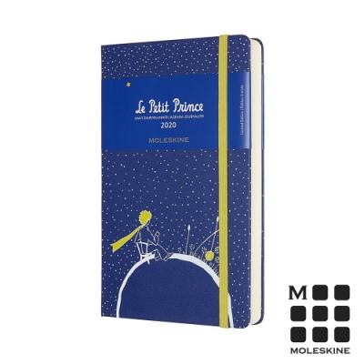 MOLESKINE 2020限定小王子手帳日記12M(L型)-藍